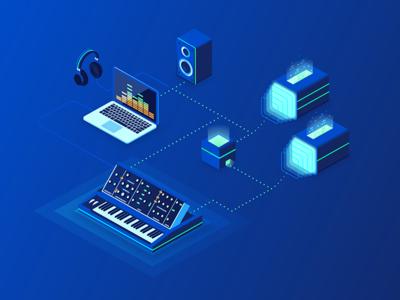 Digital Music Landing