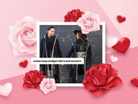 Valentine's Day Email Banner