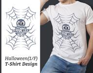 Halloween T-Shirt Design, Halloween, T-Shirt