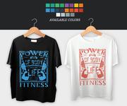 GYM T-Shirt Design