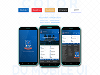 Mobile App UI redesign of Dhaka University.