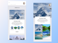 Travel App UI | Adobe XD