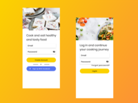 Hungry Chef | Adobe XD