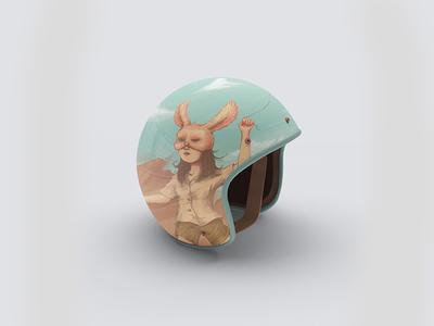 Bunny Hope Helmet