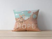 Bunny Hope Pillow