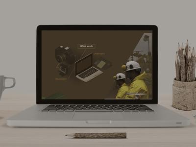 mavens aerial documentation - web design