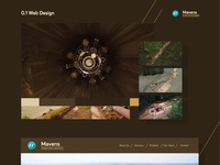 mavens aerial doc - web design & illustration