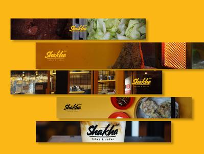 shakha kebab & coffee - brand identity