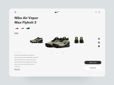 Nike Redesign Branding Concept