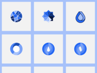 Energy logo iterations