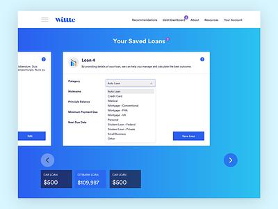 Saving loans modal loans ui modal financial