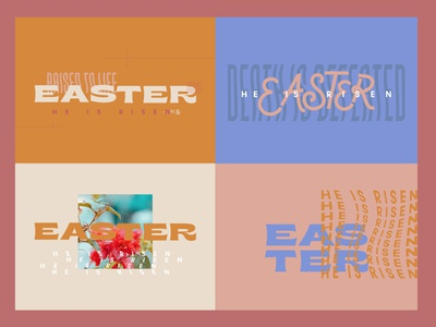 Easter church marketing church logo easter design design art christian logo christian design illustrator minimalistic church design marketing church color branding church branding easter design
