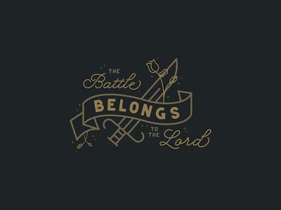 Battle church design church illustration typography minimalistic marketing illustrator color branding design