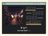 Website Event Page