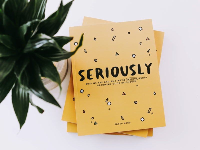 Seriously Workbook books indesign editorial layout education illustrator typography color branding design groups workbook book cover illustration art illustrations illustration editorial illustration editorial editorial design book