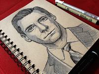 Don Draper Sketch