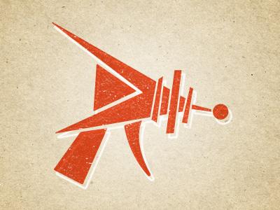 Raygun Creative retro raygun logo identity