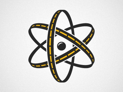 Future Labs Mark atom highway logo mark