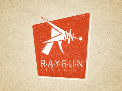 Raygun Creative 2 logo raygun retro