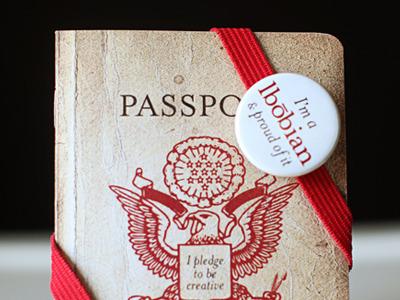 lbobiville Passport passport old worn print