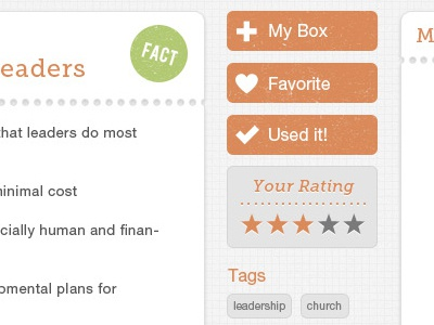 Project UI ui distressed church web interface
