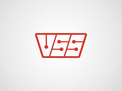 VSS Tech logo tech logo iconography icon brand identity