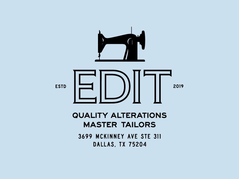 EDIT Brand Identity logo design brand and identity clothing brand sewing clothing badge typography fashion type vintage mark branding illustration logo