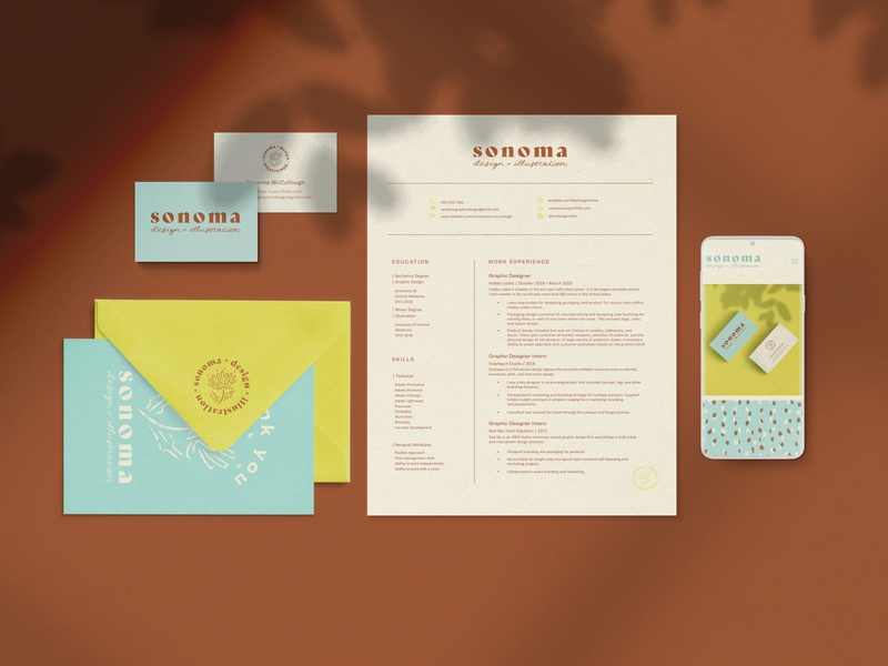 Sonoma - Personal Brand