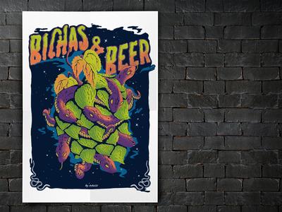 Bichas &  Beer - Poster