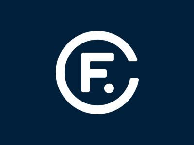 Fort Collins Monogram apparel logo typography c f fortcollins colorado monogram