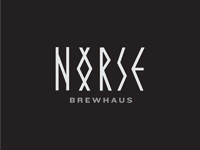 Norse Brewhaus – Personal Homebrew Concept scandinavian branding logo beer homebrew brewhaus brewery sword runes vikings norse