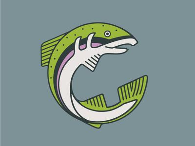 Rainbow Trout Illustration & Shirt