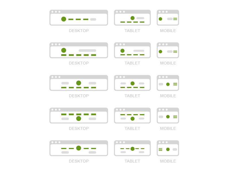 Headers Wireframe joomla template experience design website t3-framework joomla wireframe