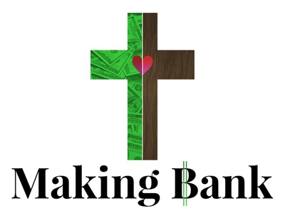 Making Bank design illustration texture church minimal vector white black red green sermon