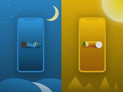 Night / Day Toggle