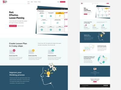 Landing Page - 5 Minute Lesson Plan
