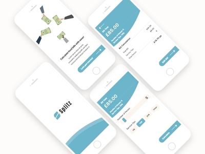 Splitz - Bill Splitting App Concept
