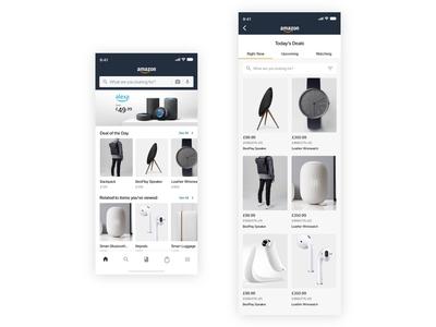 Amazon mobile app redesign