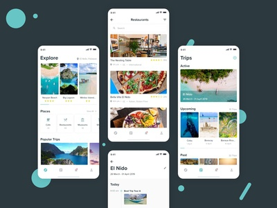 Travel App for mobile