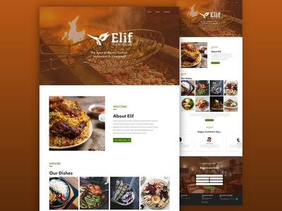 Website Landing Page Redesign
