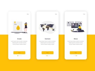 Onboarding - Mobile App
