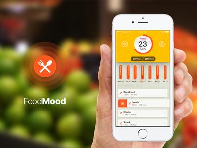 FoodMood Logo & App