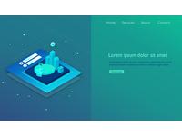 Analytics Landing Page