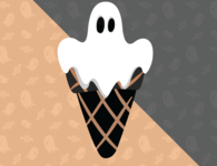 Ghost Ice cream