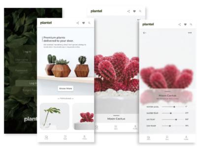 Plantel app concept