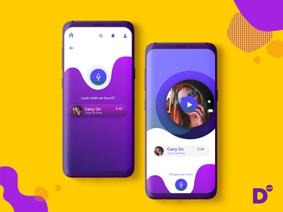 Musique : Music streaming app concept