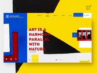 Website Design Concept- Artscape