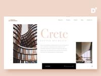 Website Design Concept- CRETE