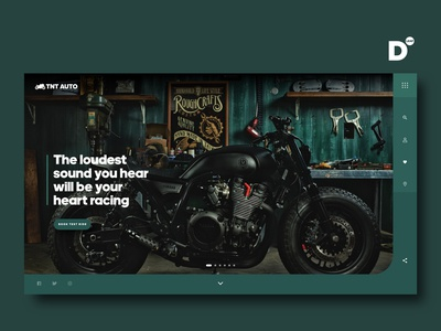 Website Design Concept- TNT AUTO