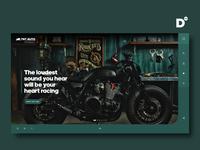Website Design Concept- TNT AUTO